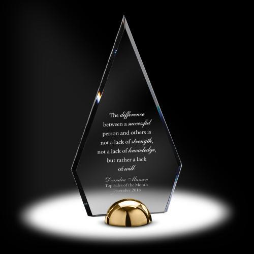 Alloy Diamond Acrylic Award