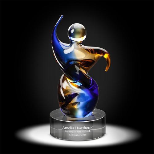 Samaritan Art Glass Award