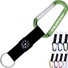 Office Supplies - Carabiner with Compass