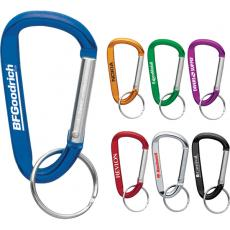 Office Supplies - Carabiner with Split Key Ring