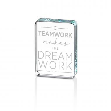 Teamwork Dream Work Crystal Mini Rave