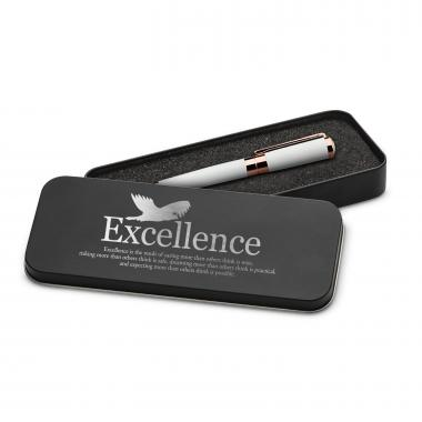 Excellence Eagle Executive Rose Gold Pen Set & Case