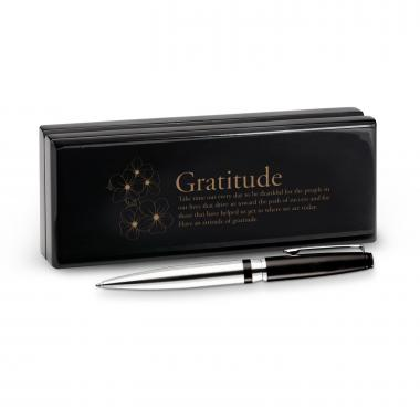 Gratitude Cherry Blossoms Signature Series Pen & Case