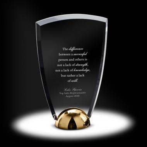 Alloy Arch Acrylic Award