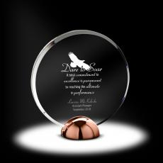 Metal, Stone and Cast Awards - Alloy Disc Acrylic Award