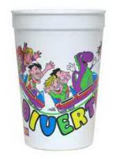 Home & Family - Offset 16 oz Stadium Cup