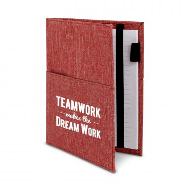 Teamwork Makes the Dream Work Canvas Notebook