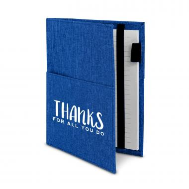 Thanks for All You Do Canvas Notebook