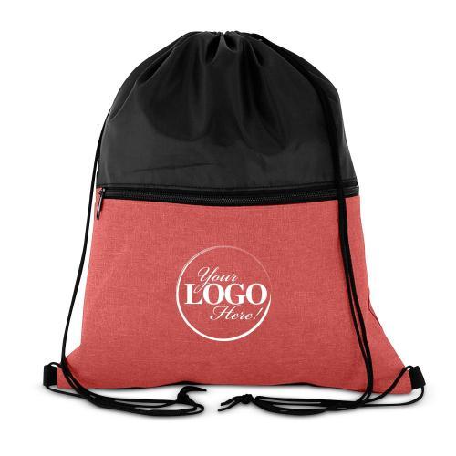 Custom Logo Drawstring Backpack