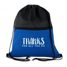 Thanks for All You Do Drawstring Backpack
