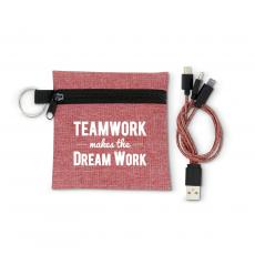 New Products - Teamwork Makes the Dream Work USB Cable Set