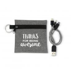 New Products - Thanks for Being Awesome USB Cable Set