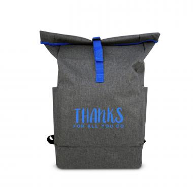 Thanks for All You Do Roll Down Backpack