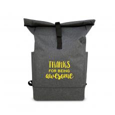 Backpacks - Thanks for Being Awesome Roll Down Backpack