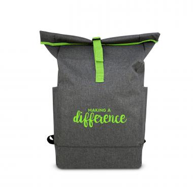 Making a Difference Roll Down Backpack