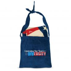 Closeout and Sale Center - Celebrating Our Team's Diversity American Flag Towel N' Tote