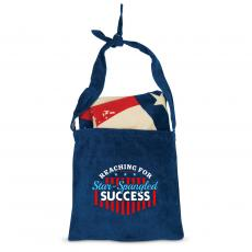 Closeout and Sale Center - Reaching for Star-Spangled Success American Flag Towel N' Tote