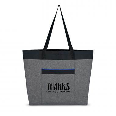 Thanks for All You Do Heathered Tote