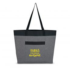 Tote Bags - Thanks for Being Awesome Heathered Tote