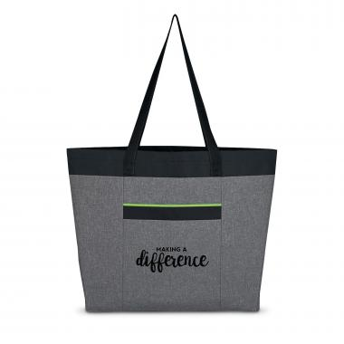 Making a Difference Heathered Tote