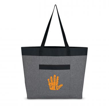Together We Can Heathered Tote