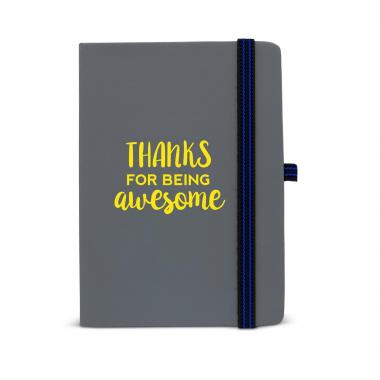 Thanks for Being Awesome Striped Accent Journal