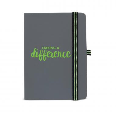 Making a Difference Striped Accent Journal