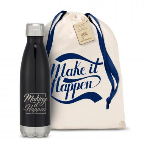 Make It Happen Square Swig 16oz Bottle