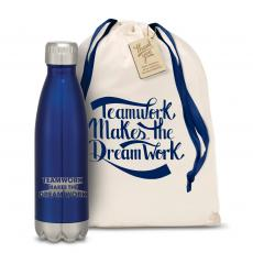 Teamwork Dream Work 3D Swig 16oz Bottle