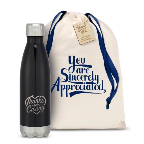 Thanks for Caring Swig 16oz Bottle