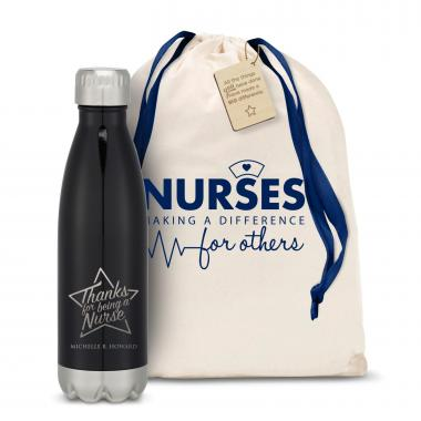 Thanks Nurse Star Swig 16oz Bottle