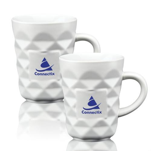 Match Diamond Mug Set - 12oz