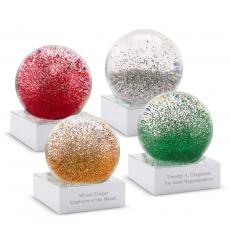 Personalized Mini Glitter Globe