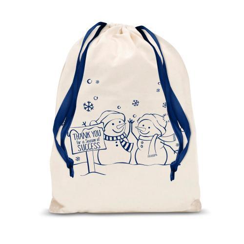 Season of Success Small Drawstring Gift Bag