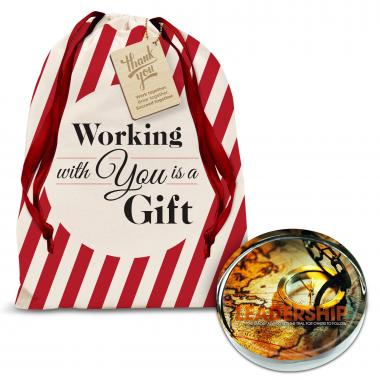 Leadership Compass Positive Outlook Paperweight Holiday Gift Set