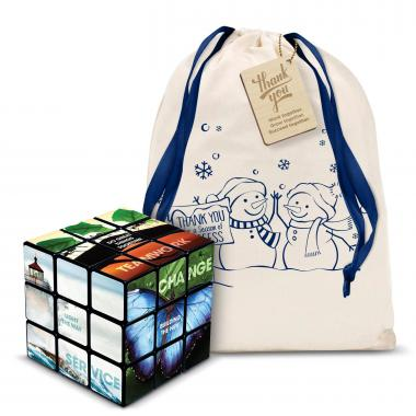 Motivational Rubik's Cube Holiday Gift Set