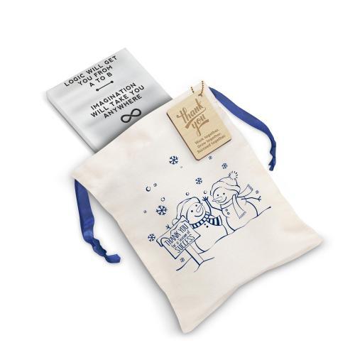 Einstein Imagination Metal Paperweight Holiday Gift Set