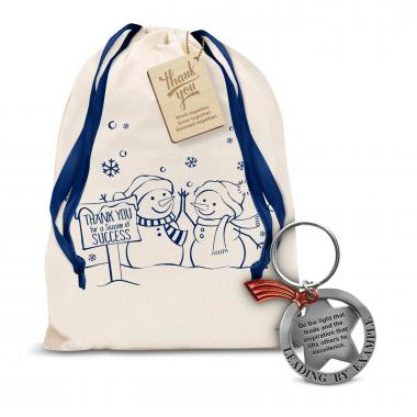 Leading by Example Metal Keychain Holiday Gift Set
