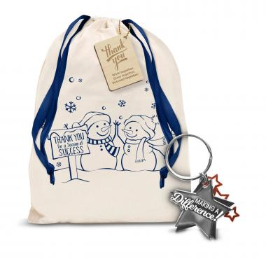 Making a Difference Metal Keychain Holiday Gift Set