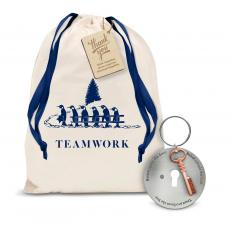 Gift Sets - Key to Success Metal Keychain Holiday Gift Set
