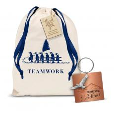 Gift Sets - Commitment to Excellence Metal Keychain Holiday Gift Set