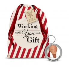 Gift Sets - Bright Ideas Metal Keychain Holiday Gift Set