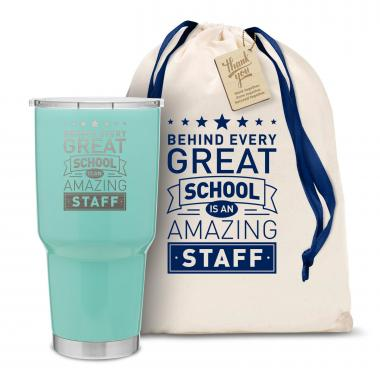 The Big Joe - Behind Every Great School 30oz. Stainless Steel Tumbler