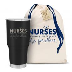 Vacuum Insulated - The Big Joe - Nurses Making a Difference 30oz. Stainless Steel Tumbler