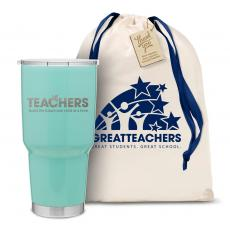 Vacuum Insulated - The Big Joe - Teachers Build Futures 30oz. Stainless Steel Tumbler