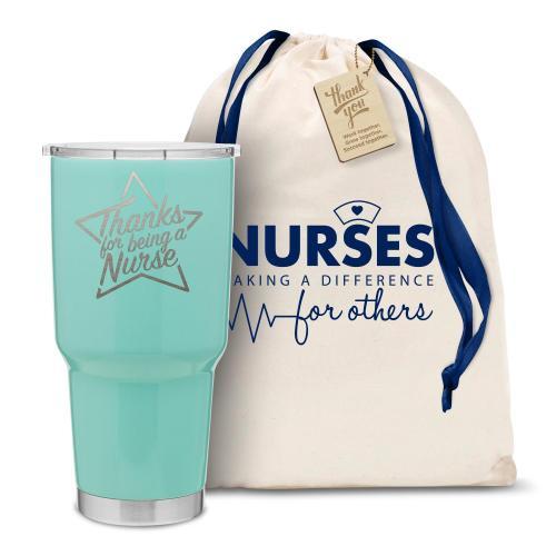 The Big Joe - Thanks Nurse Star 30oz. Stainless Steel Tumbler