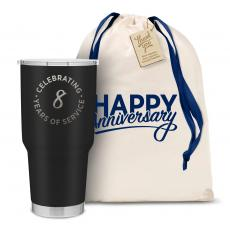 Vacuum Insulated - The Big Joe - Happy Anniversary 30oz. Stainless Steel Tumbler