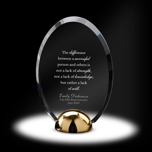 Alloy Summit Acrylic Award