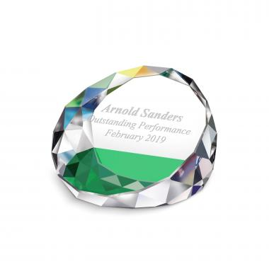Prism Crystal Paperweight