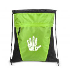 Together We Can - Together We Can Value Cinch Backpack